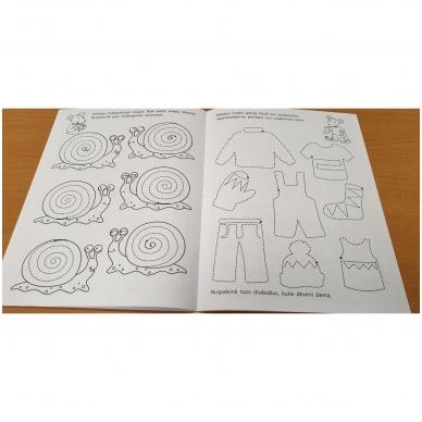 Pirmieji rankos lavinimo žingsneliai 4-5 metų vaikams 6