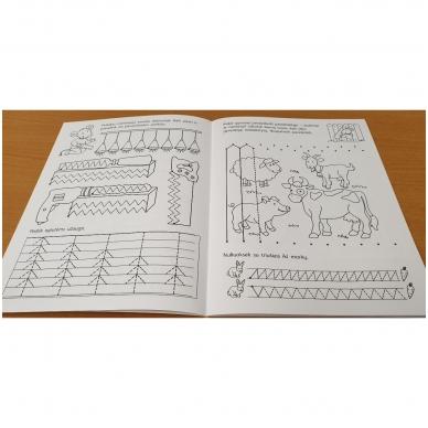Pirmieji rankos lavinimo žingsneliai 5-6 metų vaikams 3