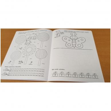 Pirmieji rankos lavinimo žingsneliai 5-6 metų vaikams 4