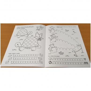 Pirmieji rankos lavinimo žingsneliai 5-6 metų vaikams 6