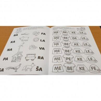 Pirmieji skaitymo žingsneliai 5-6 metų vaikams 5