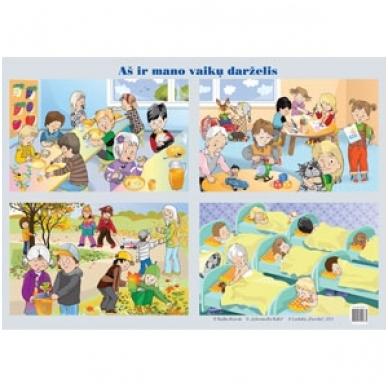 """Plakatas """"Aš ir mano vaikų darželis"""" (A2 formato)"""