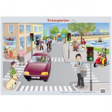"Plakatas ""Transportas"" (A2 formato)"