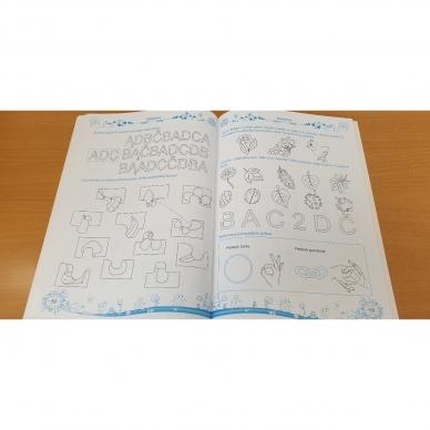 Pratimų rinkinys 5-6 metų vaikams. 1 dalis 12