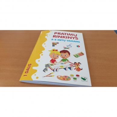 Pratimų rinkinys 5-6 metų vaikams. 1 dalis 2