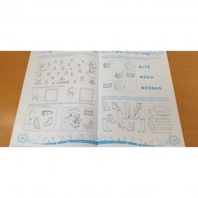 Pratimų rinkinys 5-6 metų vaikams. 1 dalis 6