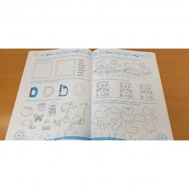 Pratimų rinkinys 5-6 metų vaikams. 1 dalis 8