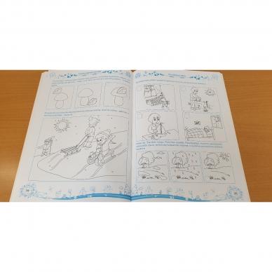 Pratimų rinkinys 5-6 metų vaikams. 1 dalis 9