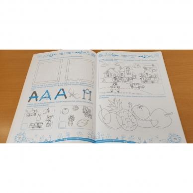 Pratimų rinkinys 5-6 metų vaikams. 1 dalis 11