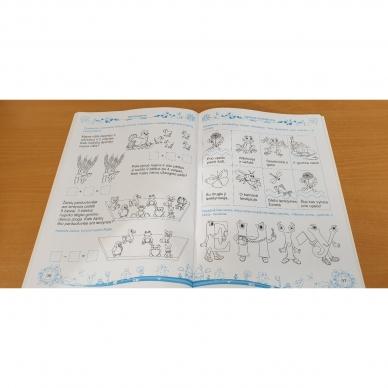 Pratimų rinkinys 5-6 metų vaikams. 2 dalis 10