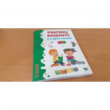 Pratimų rinkinys 5-6 metų vaikams. 2 dalis 2