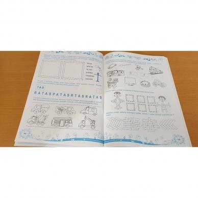 Pratimų rinkinys 5-6 metų vaikams. 3 dalis 14