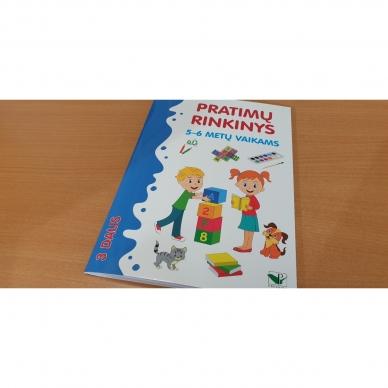 Pratimų rinkinys 5-6 metų vaikams. 3 dalis 2