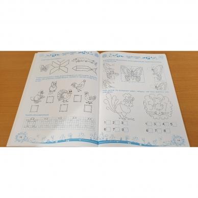 Pratimų rinkinys 5-6 metų vaikams. 3 dalis 4