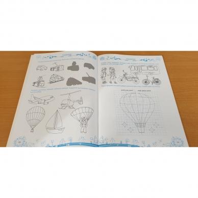 Pratimų rinkinys 5-6 metų vaikams. 3 dalis 7
