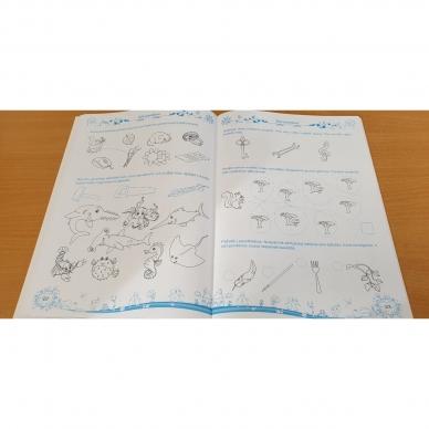 Pratimų rinkinys 5-6 metų vaikams. 3 dalis 10