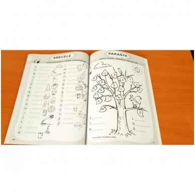RENGIUOSI Į MOKYKLĄ. 2dalis (lietuvių kalbos, matematikos ir aplinkos pažinimo užduotys) 8