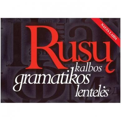 Rusų kalbos gramatikos lentelės