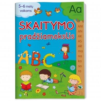 Skaitymo pradžiamokslis 5-6 metų vaikams
