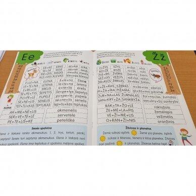 Skaitymo pradžiamokslis 5-6 metų vaikams 3