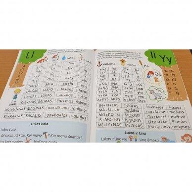 Skaitymo pradžiamokslis 5-6 metų vaikams 4