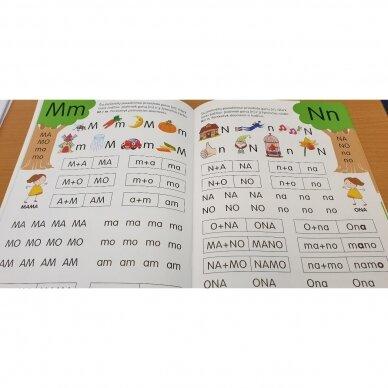 Skaitymo pradžiamokslis 5-6 metų vaikams 6