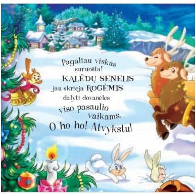 Smagios dėlionės. Baltos Kalėdos. 6 dėlionės 4