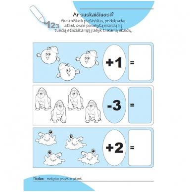 Smagios užduotys 4-5 metų vaikams. 1 dalis 4