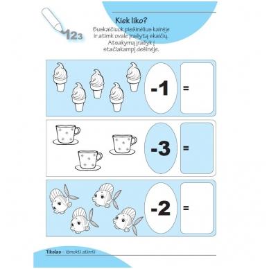 Smagios užduotys 4-5 metų vaikams. 2 dalis 2