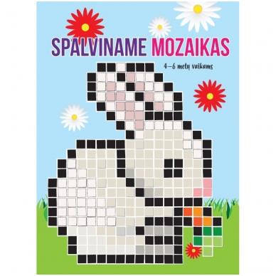 Spalviname mozaikas 4-6 metų vaikams