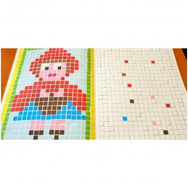 Spalviname mozaikas 4-6 metų vaikams 2