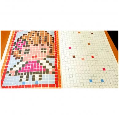 Spalviname mozaikas 4-6 metų vaikams 4