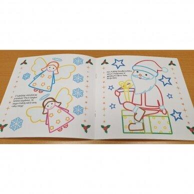 Spindinčios Kalėdų spalvos. 3-4 metų vaikams 2