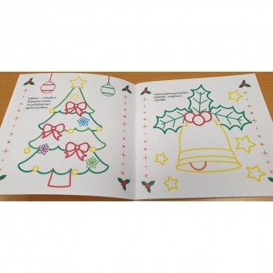 Spindinčios Kalėdų spalvos. 3-4 metų vaikams 3