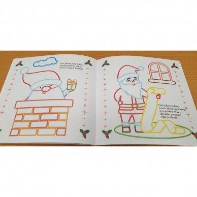 Spindinčios Kalėdų spalvos. 3-4 metų vaikams 4
