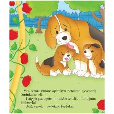 BROKAS!!! Šuniukas. Su daugkartinio naudojimo lipdukais 2-4 metų vaikams (iš grąžinimų) 5