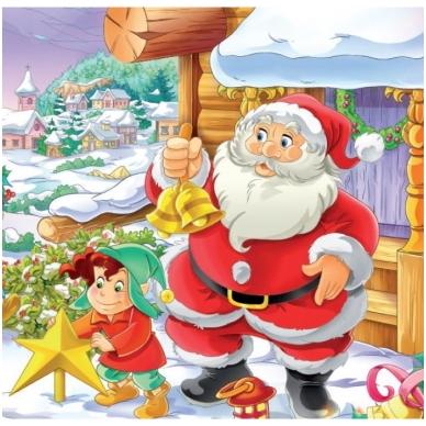 Svečiuose pas Kalėdų Senelį. 6 delionės 4