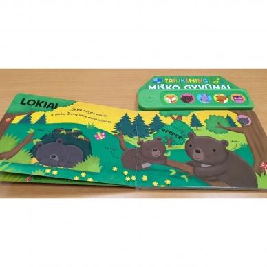 Triukšmingi miško gyvūnai. Su gyvūnų balsais 6