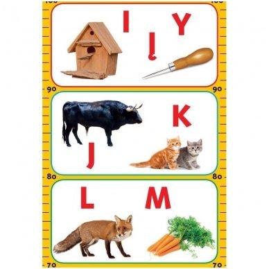 Ūgio matuoklis ir abėcėle 3