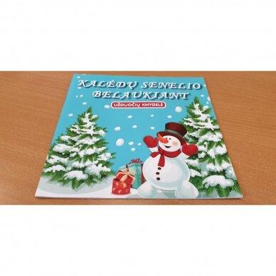 Valio! Kalėdos! 4-5 metų vaikams. 4 knygelės (3 užduočių ir 1 lipdukų), 250 lipdukų, 6 spalvoti pieštukai, 3 kalėdiniai žaisliukai 11