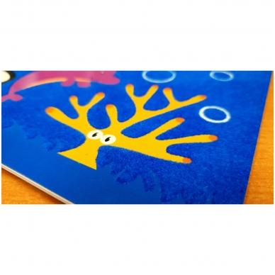 Veliūrinė spalvinimo knyga. Noriu spalvinti. 3-4 metų vaikams 2
