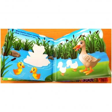 Vonios knygelė. Smagu maudytis. Nuspalvink vandeniu! 4