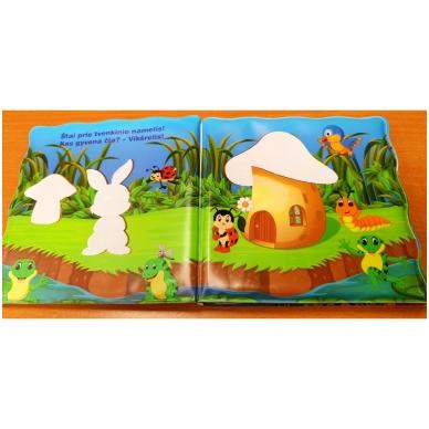 Vonios knygelė. Smagu maudytis. Nuspalvink vandeniu! 5