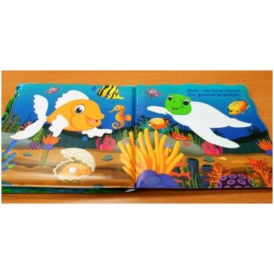 Vonios knygelė. Smagu maudytis. Nuspalvink vandeniu! 6