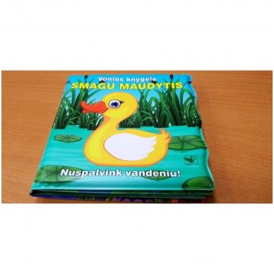 Vonios knygelė. Smagu maudytis. Nuspalvink vandeniu! 3